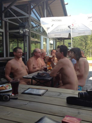 Naked at Lunch in Austria