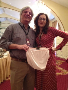 David L. Ulin and Annabelle Gurwitch and some granny panties.
