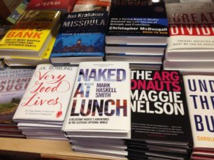 Naked at Lunch at Skylight Books in Los Angeles.