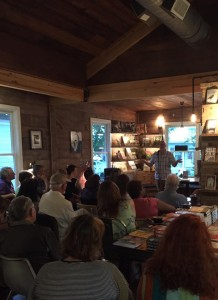 Doing the author talk thing at The Wild Detectives.