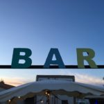 Bar on the beach, Frontignan